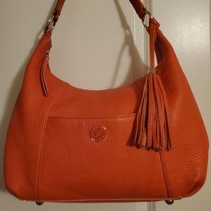 Isaac Mizrahi Leather Handbag